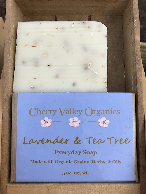 Lavender tea tree soap