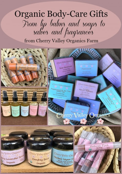 Organic Body Care Product Gifts