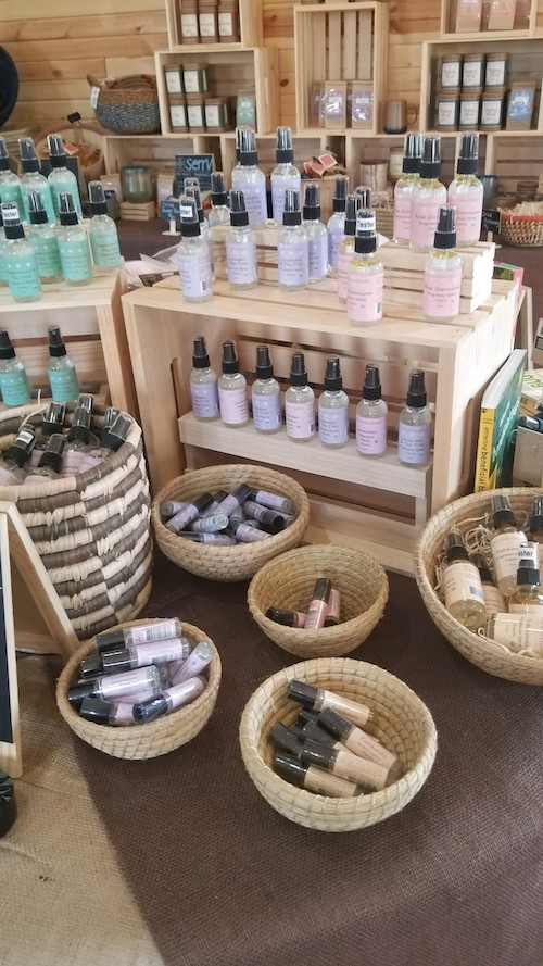All natural organic fragrances for home and body