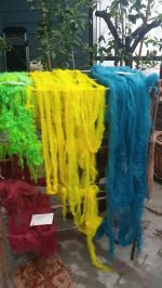 roving colored drying
