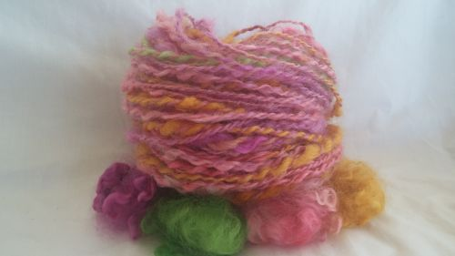 Hand spun from the lock