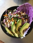 purple napa cabbage salad