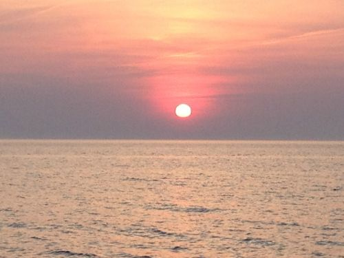 """Our"" Lake Michigan sunsets are gorgeous!"