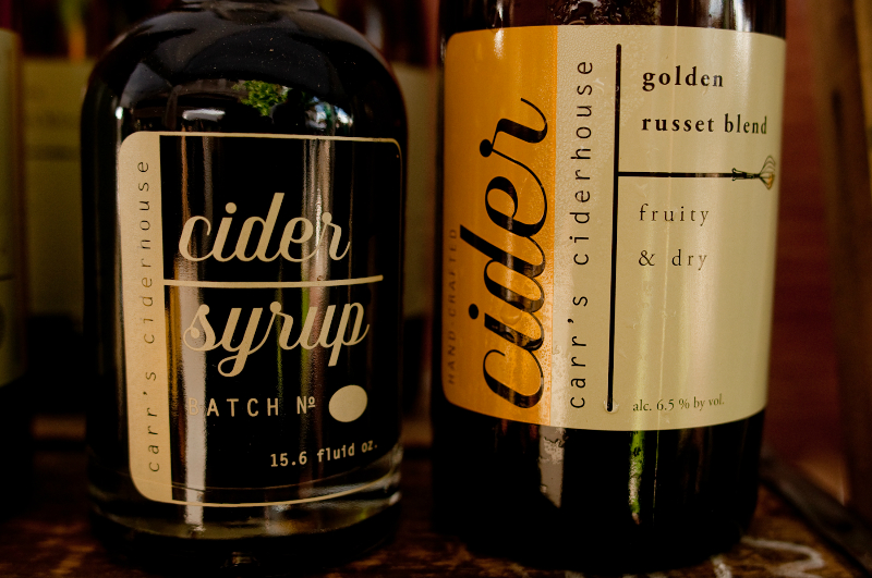 carr's ciderhouse syrup and vinegar
