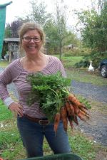 Martha with carrots