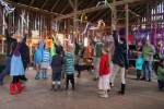 Dancing in the barn!