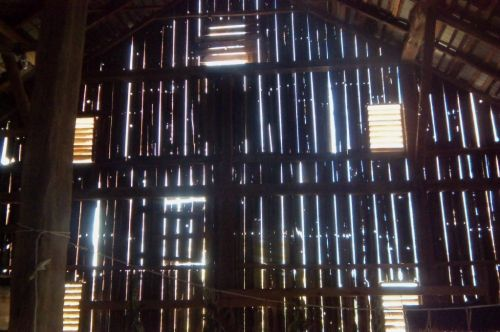 A cathedral in the barn
