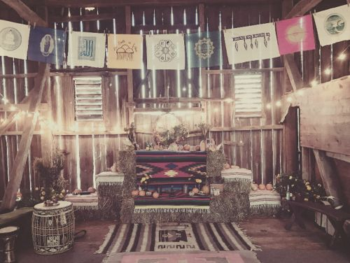 Altar to honor the ancestors
