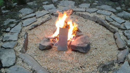 new fire circle