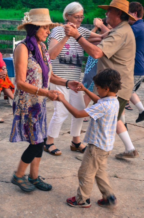 All ages dancing!