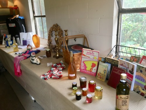 items for the silent auction