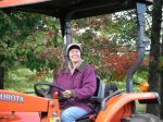 Cheryl & Jules (the Kubota)