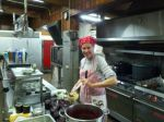 Making jam at Camp Hanes