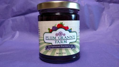 Old Fashioned Blackberry Jam
