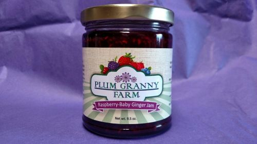 Raspberry-Baby Ginger Jam