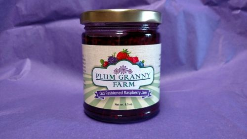 Old Fashioned Raspberry Jam