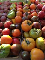 heirlooms at market