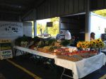 stand at Kalamazoo Farmer's Market