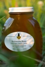 Fresh, raw, unfiltered honey from our bees goes into every jar of Burkeville Bees honey.