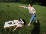 Corn hole for some, place to explore for others
