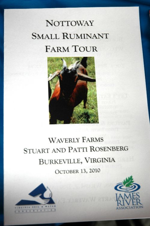 85 Farmers Learned about Pasture and Goats at Waverly Farms