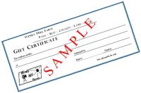 WHF Gift Certificate