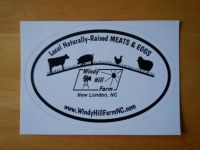 WHF Window Decal