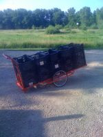 Our new cart. Very useful!