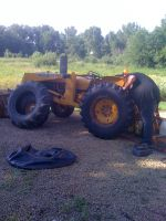 Tractor tires getting replaced after 43 years!