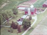 This is what the farm looked like in the 1970's a few years after Tom and Chris moved in.