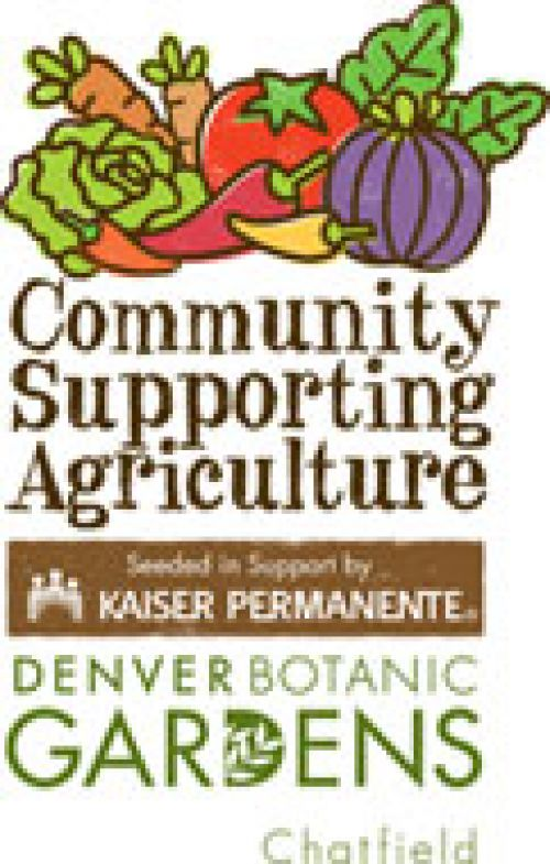 Community Suppporting Agriculture at Denver Botanic Gardens