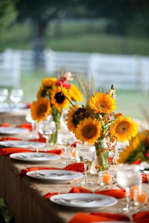 Harvest Dinner Table