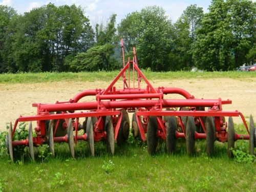 The Seed Farm's disc (tillage equipment)