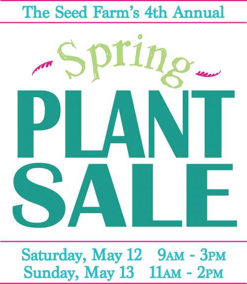 Plant Sale: May 12, 2018 9am-3pm