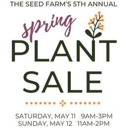 Plant Sale May 11-12, 2019