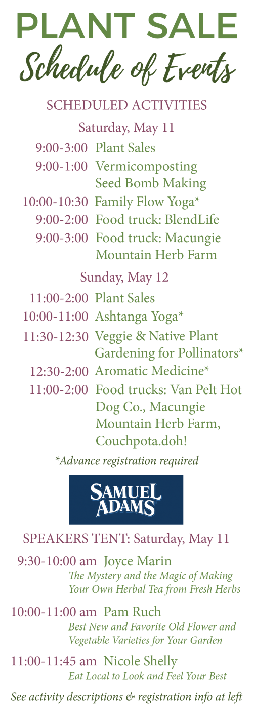 Plant Sale | The Seed Farm