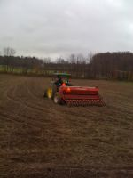 Getting the fields ready for planting!