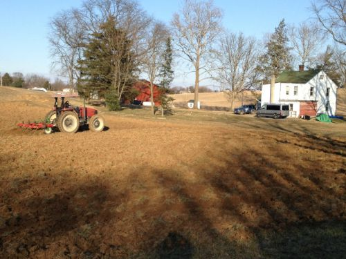 We bought a new farm! 42 acres in Carlisle 3/23/13
