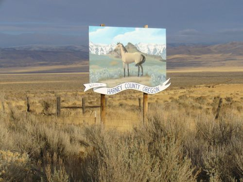 Harney County Welcome