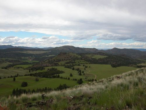 The Circle Bar Ranch near Mitchell, Oregon