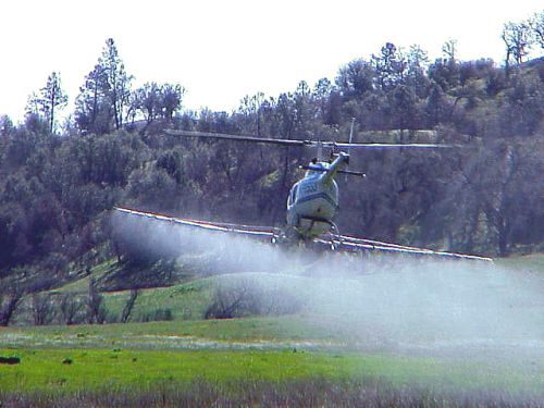 aerial herbicide application