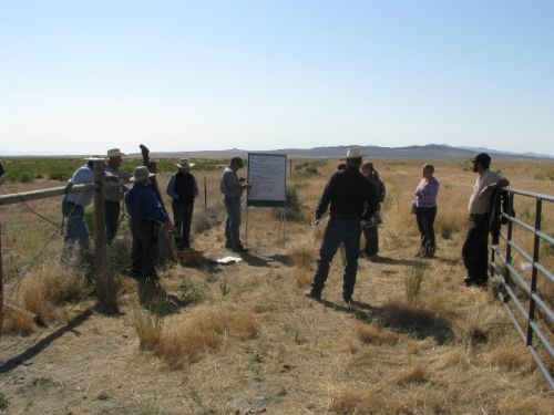 In the Field at the 2011 EBIPM Field School