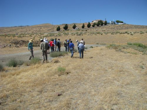 Day 1: In the field-preventing the dispersal of invasives