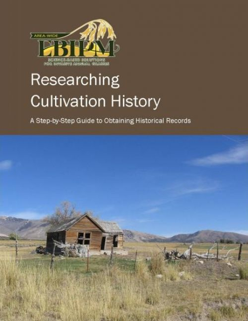 Researching Cultivation History cover