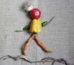 Dancing veggie person