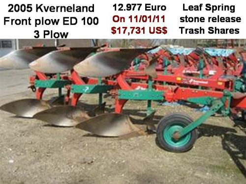 Front Plow! Now That's Ballast!