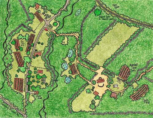 Map of the Farm