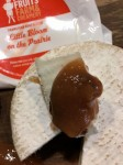 perfect little bloom-pear butter pairing