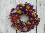Fun with dried flowers
