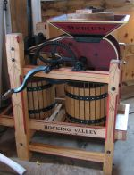 Our fully restored mini cider press
